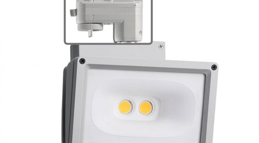 Juno Trac-Master™ LED wall-wash/flood fixtures